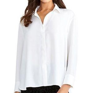 Rachel Roy Long-Sleeve Wrap Shirt